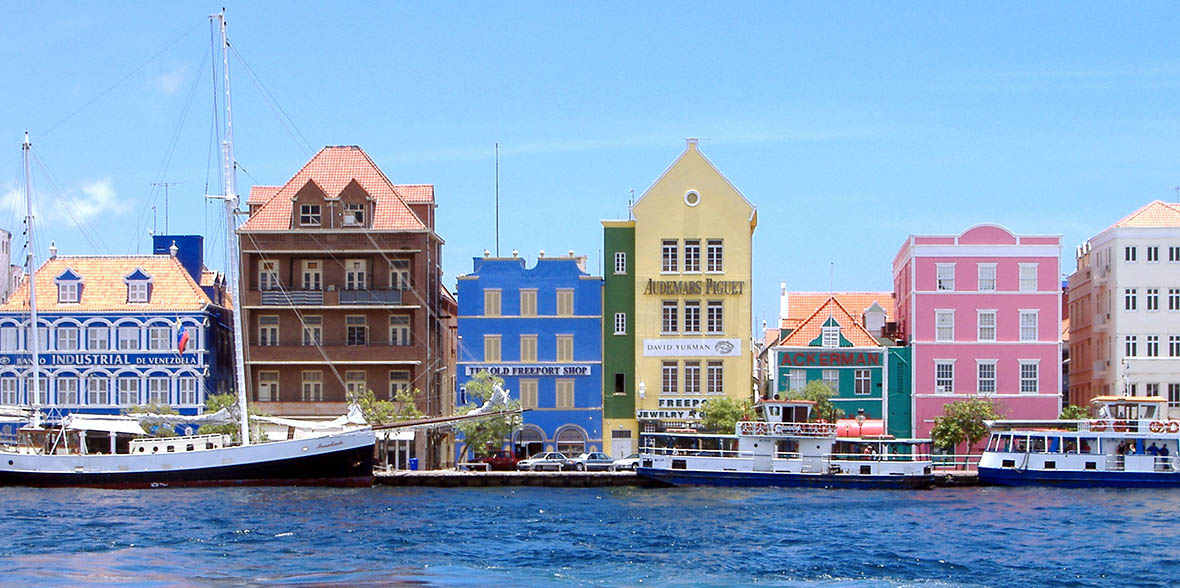 waterfront in curacao